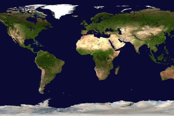 Mappa dell'OIE – Bluetongue