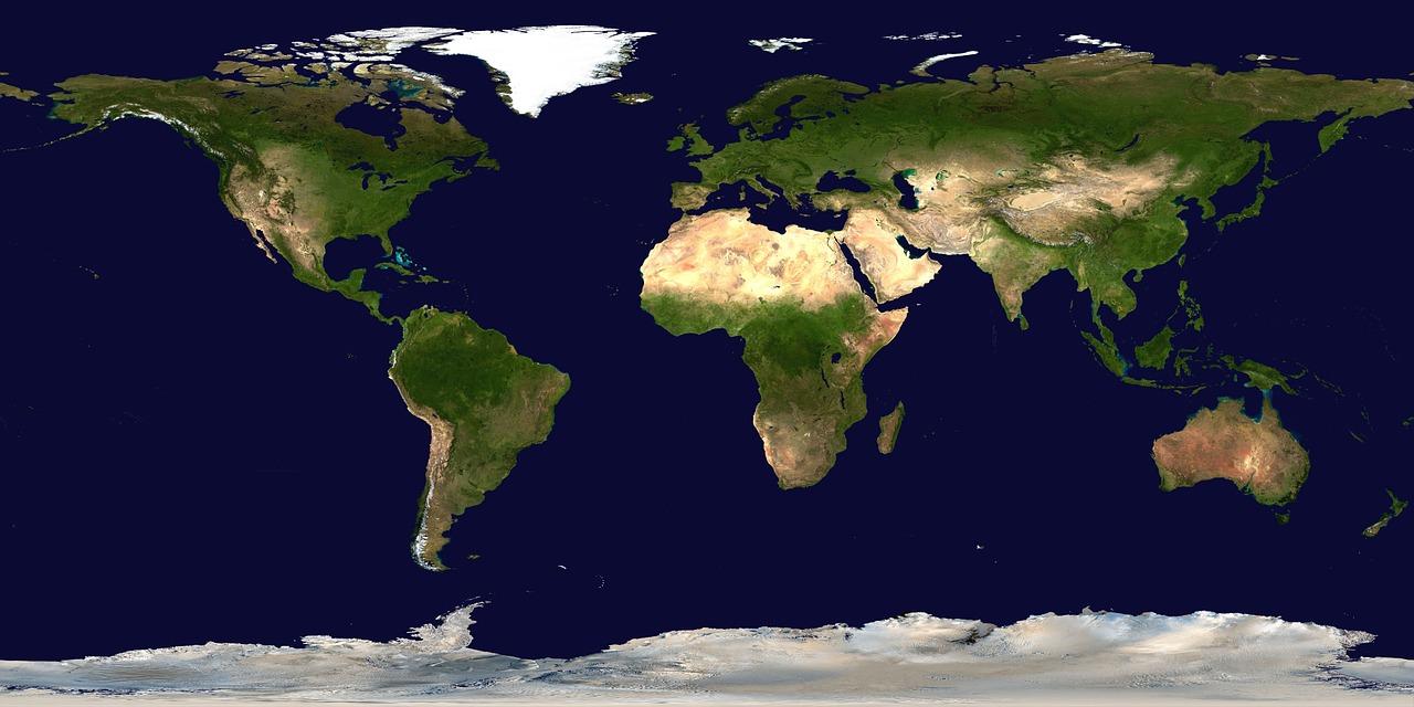 Mappa dell' OIE – Malattia di Aujeszky