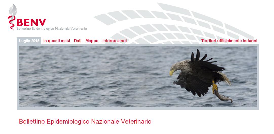 Bollettino Epidemiologico Nazionale Veterinario – Luglio 2015